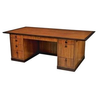 Mid-Century Modern Edward Wormley Executive Desk for Dunbar For Sale