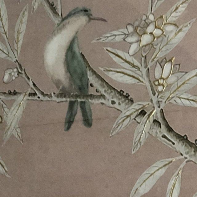 Blush Chinoiserie Art in Blush Print from Kenneth Ludwig Home For Sale - Image 8 of 11