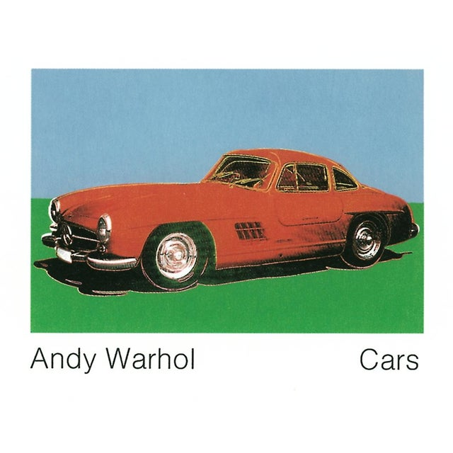 300 Sl Coupe (1954) Pop Art Poster by Andy Warhol - Image 1 of 2