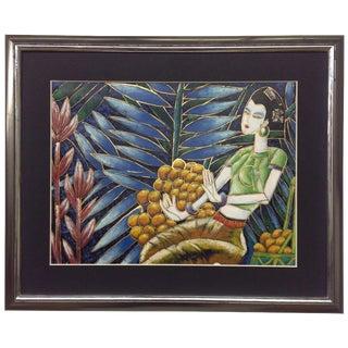 Yunnan School Oil on Canvas For Sale