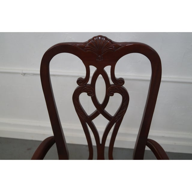 Ethan Allen 18th Century Mahogany Dining Chair - 6 - Image 6 of 10