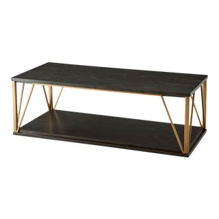 Art Deco Geometric Cocktail Table For Sale