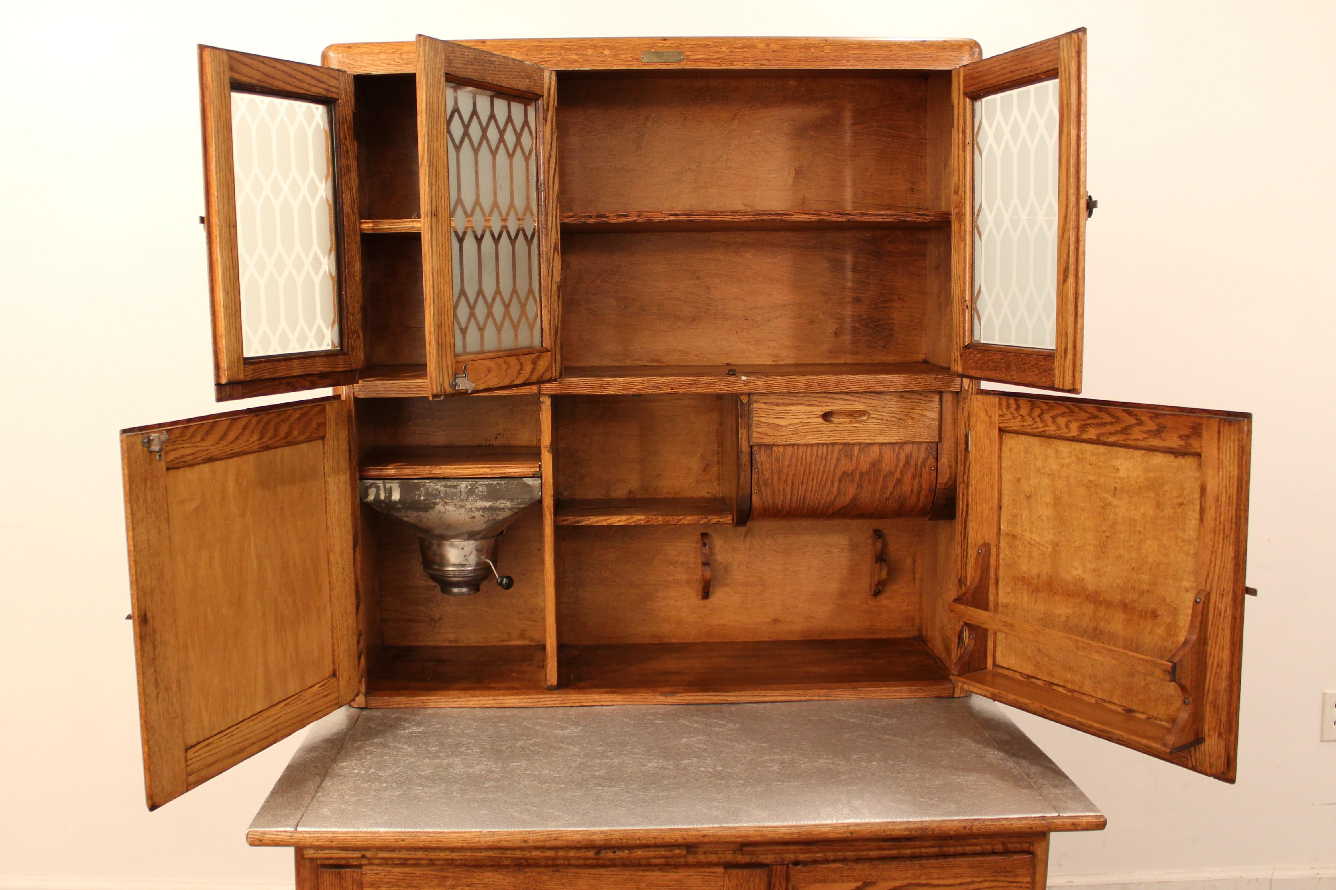 Napanee Hoosier Cabinet Value