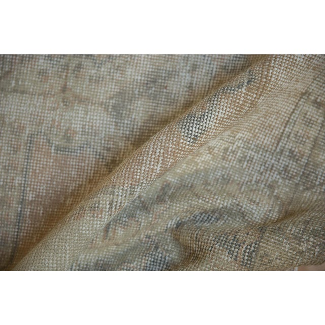 """Shabby Chic Vintage Distressed Oushak Rug - 4'4"""" X 6'9"""" For Sale - Image 3 of 10"""