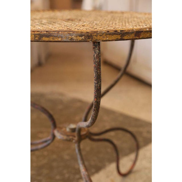 French Garden Table For Sale - Image 4 of 8