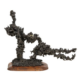 "James Bearden ""Sprawl #4"" Brutalist Sculpture For Sale"