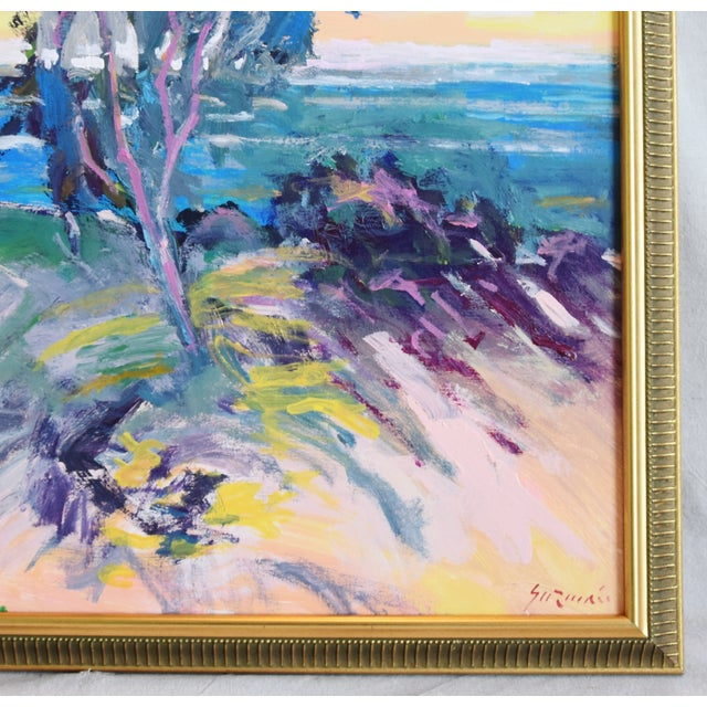 Ventura California Original Juan Guzman Plein Air Landscape Seascape Painting For Sale - Image 4 of 9