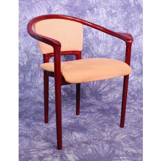 Italian Red Lacquer Dining Chairs - Set of 4 Preview
