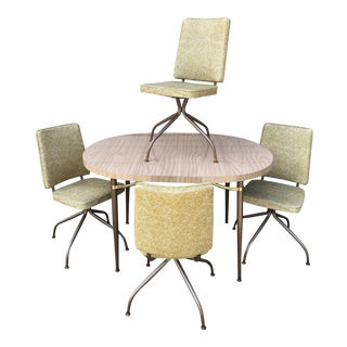 1966 Daystrom Mid-Century Modern Dinette Set - 5 Pieces For Sale
