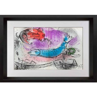 1957 Marc Chagall Original Lithograph For Sale