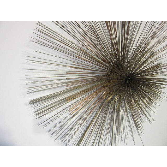 1970s Curtis Jere Metal Starburst Wall Sculpture For Sale - Image 5 of 8