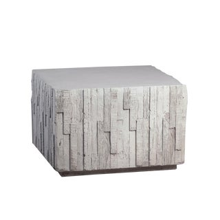 Outdoor Square Modern Accent Table For Sale