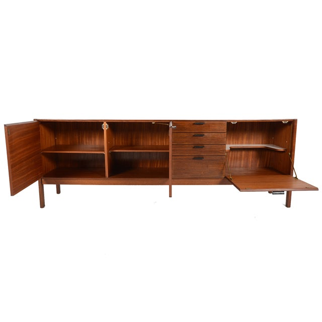 Vintage Meredew Credenza With Leather Pulls - Image 2 of 9