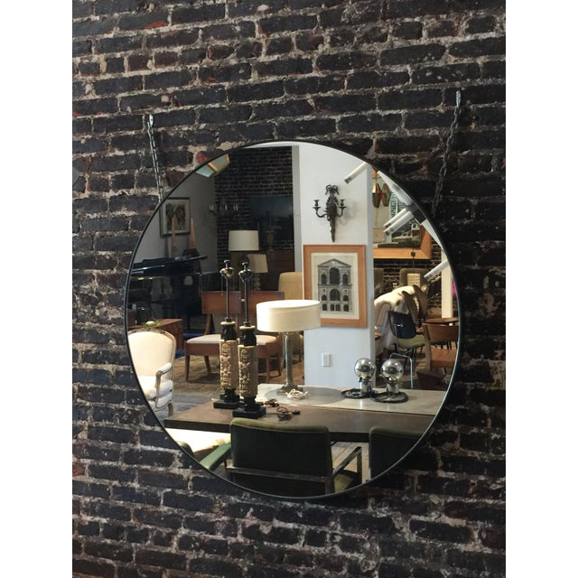 2010s Oversized 'Cerceau' Round Mirror by Design Frères For Sale - Image 5 of 6