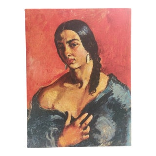 Amrita Sher-Gil Self Portrait #6 - Canvas on Frame (Reproduction Print) For Sale