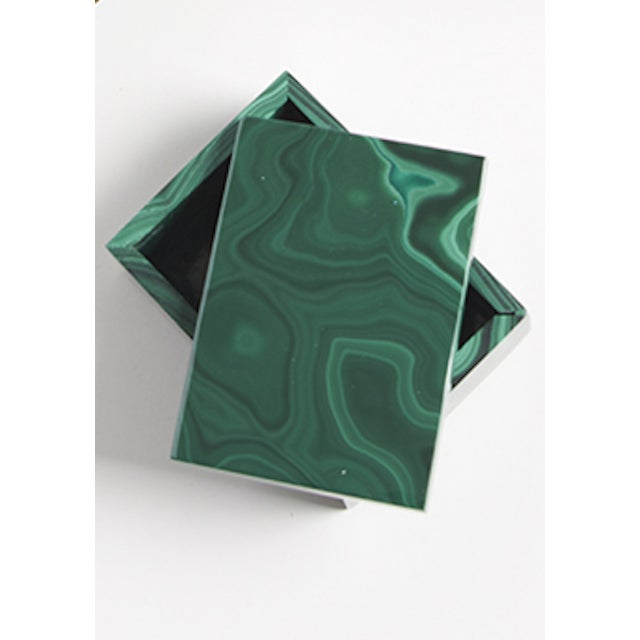 Malachite Box - Image 3 of 4