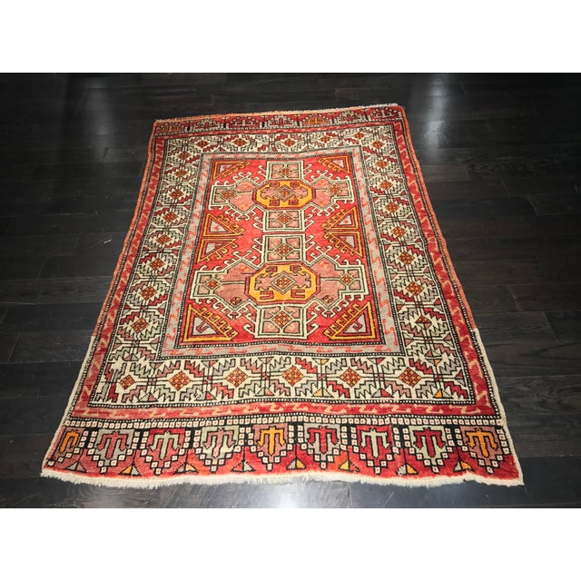 """Bellwether Rugs Vintage Turkish Oushak Small Area Rug - 4'4""""x6'6"""" - Image 2 of 11"""
