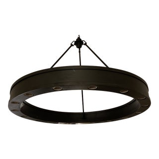Ralph Lauren Roark Ring Chandelier For Sale