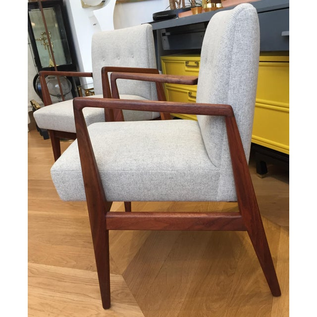 Vintage Mid Century Jens Risom Lounge Chairs- a Pair For Sale In San Francisco - Image 6 of 12