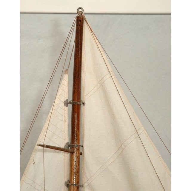 Fabric Large American Pond Boat For Sale - Image 7 of 8