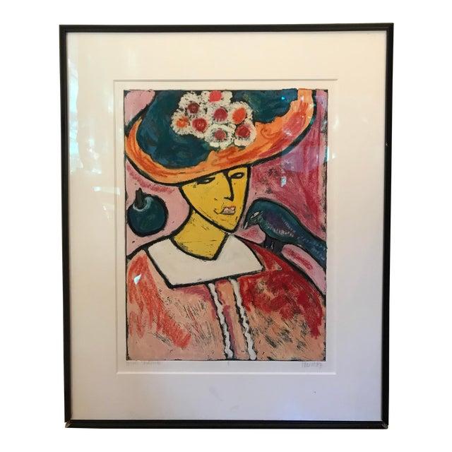 """""""Madame Sawlensri"""" Painting Print For Sale"""