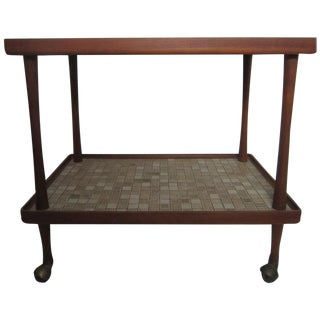 Danish Modern Teak Tea Cart