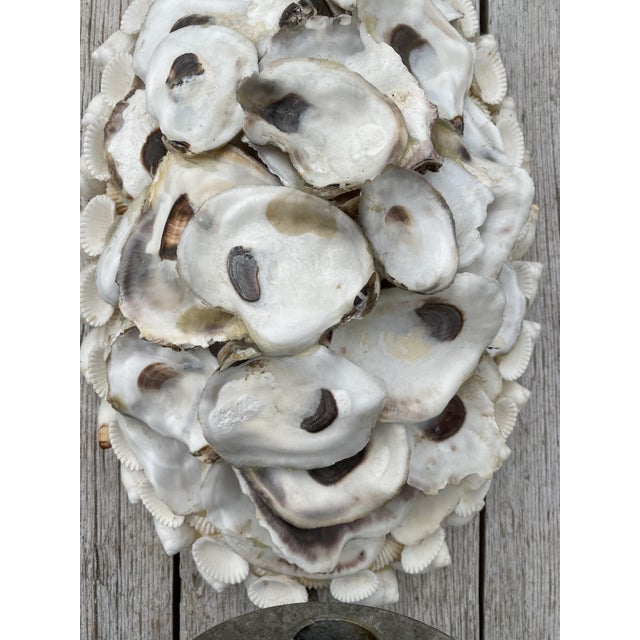 Oly Studio Oly Studio Oyster Shell Candle Wall Sconces - a Pair For Sale - Image 4 of 13