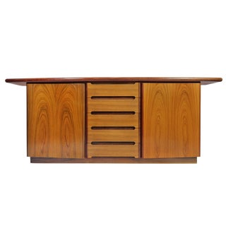 Mid-Century Modern Skovby Credenza Sideboard Cabinet For Sale