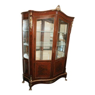French Louis XV Style China & Display Cabinet