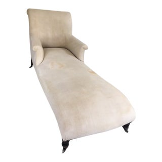 19th Century Napoleon III French Chaise For Sale