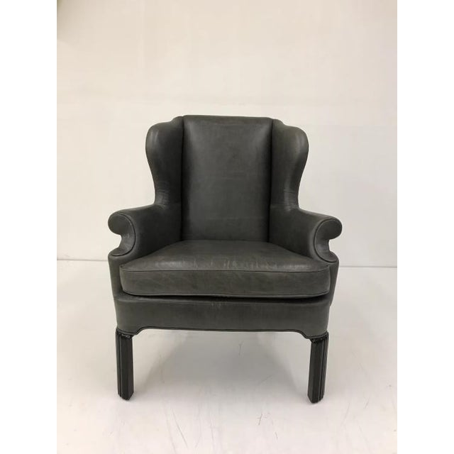 Century Furniture Thomas O'Brien Shane Wing Chair for Century Furniture For Sale - Image 4 of 4