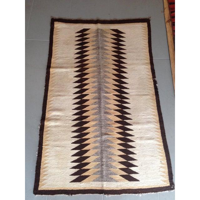 """Vintage Navajo Rug - 3'1"""" x 5'2"""" - Image 2 of 6"""