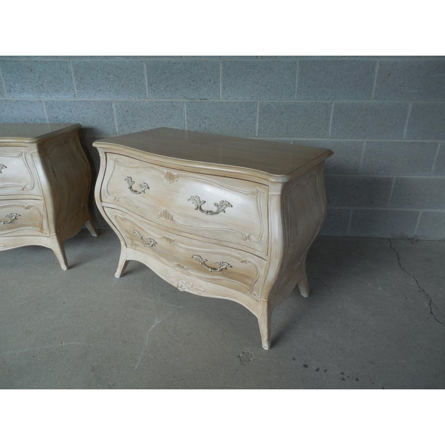 Henredon French Provincial Nightstand - Image 9 of 11