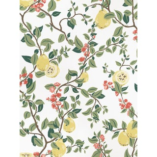 Scalamandre Kvitten, White Wallpaper For Sale