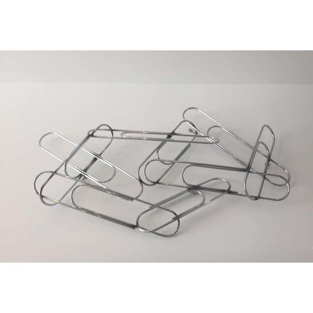 Mid-Century Modern Wall Sculpture of Paper Clips by Curtis Jere For Sale - Image 3 of 11