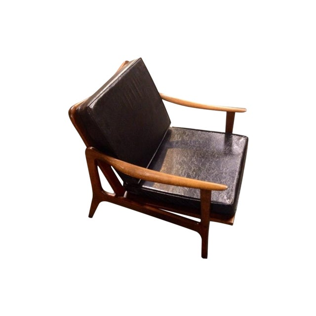 Mid-Century Modern Italian Chair - Image 1 of 10