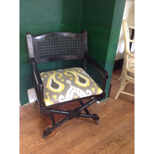 Mid-Century Campaign Chairs - Pair - Image 3 of 7