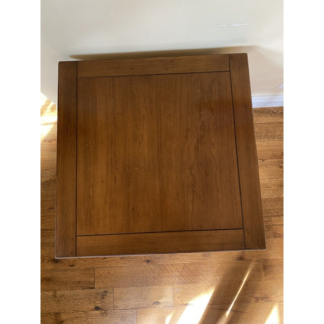 French Country Vintage Drexel Heritage End Table For Sale - Image 3 of 7
