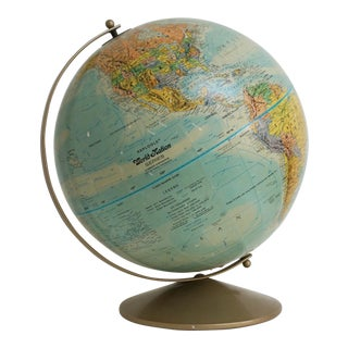 Vintage Replogle World Nation Series Globe