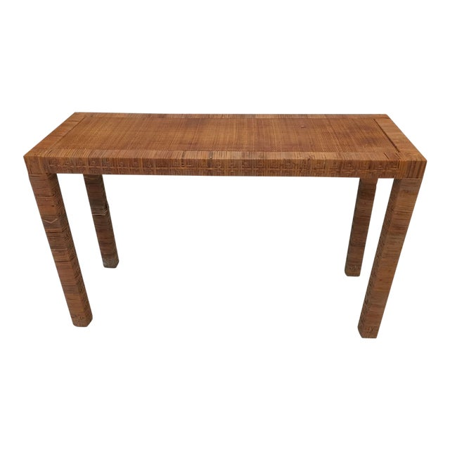 Late 20th Century Billy Baldwin Style Console Table For Sale