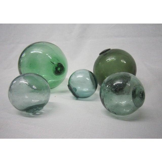 Vintage Glass Fishing Floats - Set of 6 - Image 3 of 3