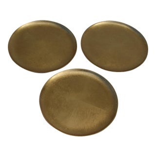 Japanese Gilded Lacquer Trays - Set of 3
