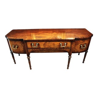 C. 1820 English Mahogany Sideboard For Sale