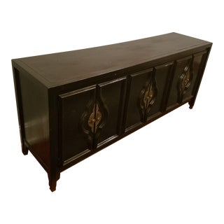 Vintage Chinoiserie Style Credenza