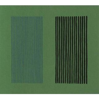 "Gene Davis, ""Green Giant"", Minimalist Lithograph For Sale"