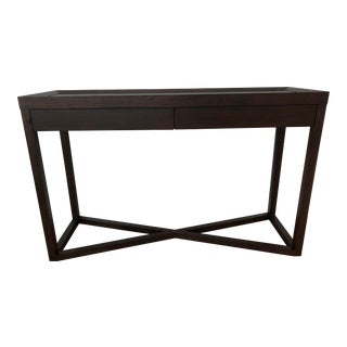 Modern Calvin Klein Console Table With Storage For Sale