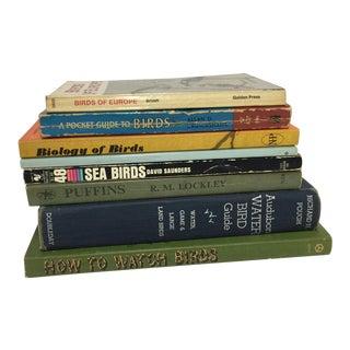 Vintage Birds and Bird Watching Books - Set of 8