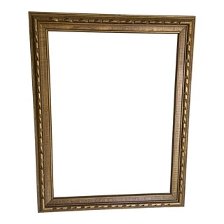 Gold Carved Wood Frame