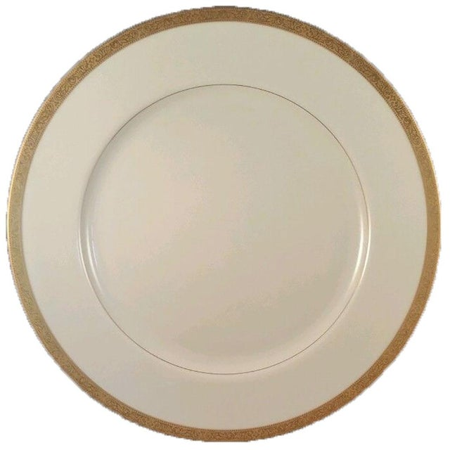 Elegant mid-century china set in Mikasa's Colony Gold pattern; perfect for entertaining or everyday use. Ivory color with...