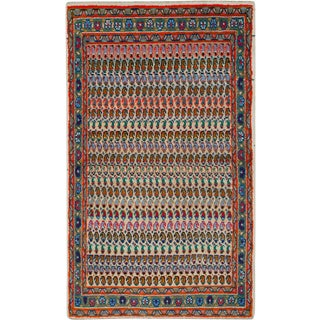 "Vintage Persian Hamadan Rug – Size: 2' 8"" X 4' 6"" For Sale"